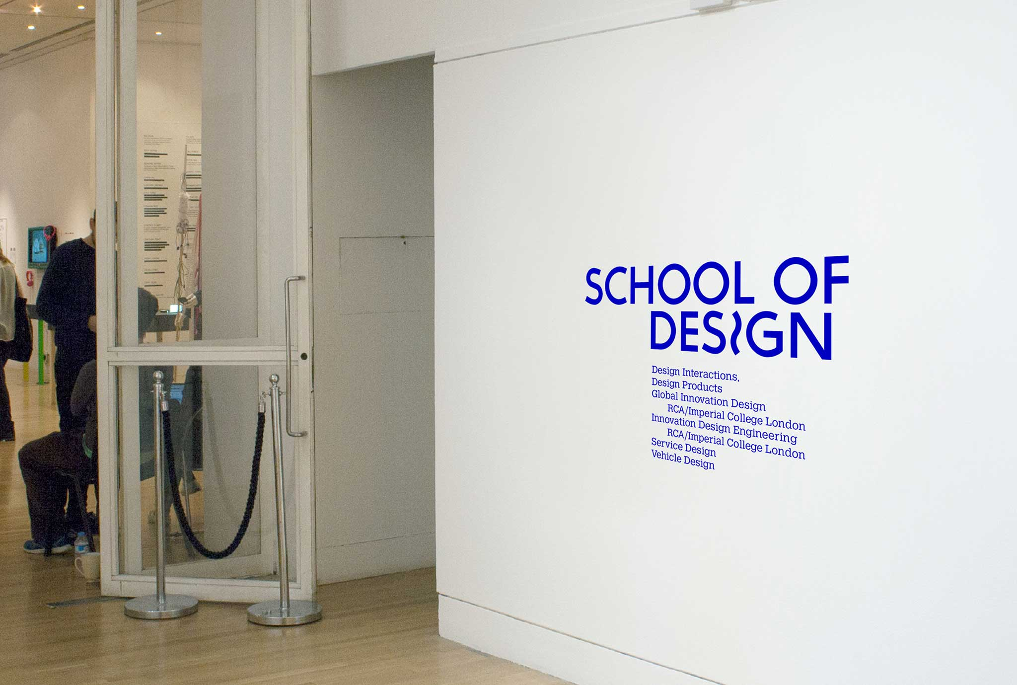 Royal College of Art show 2016 wall