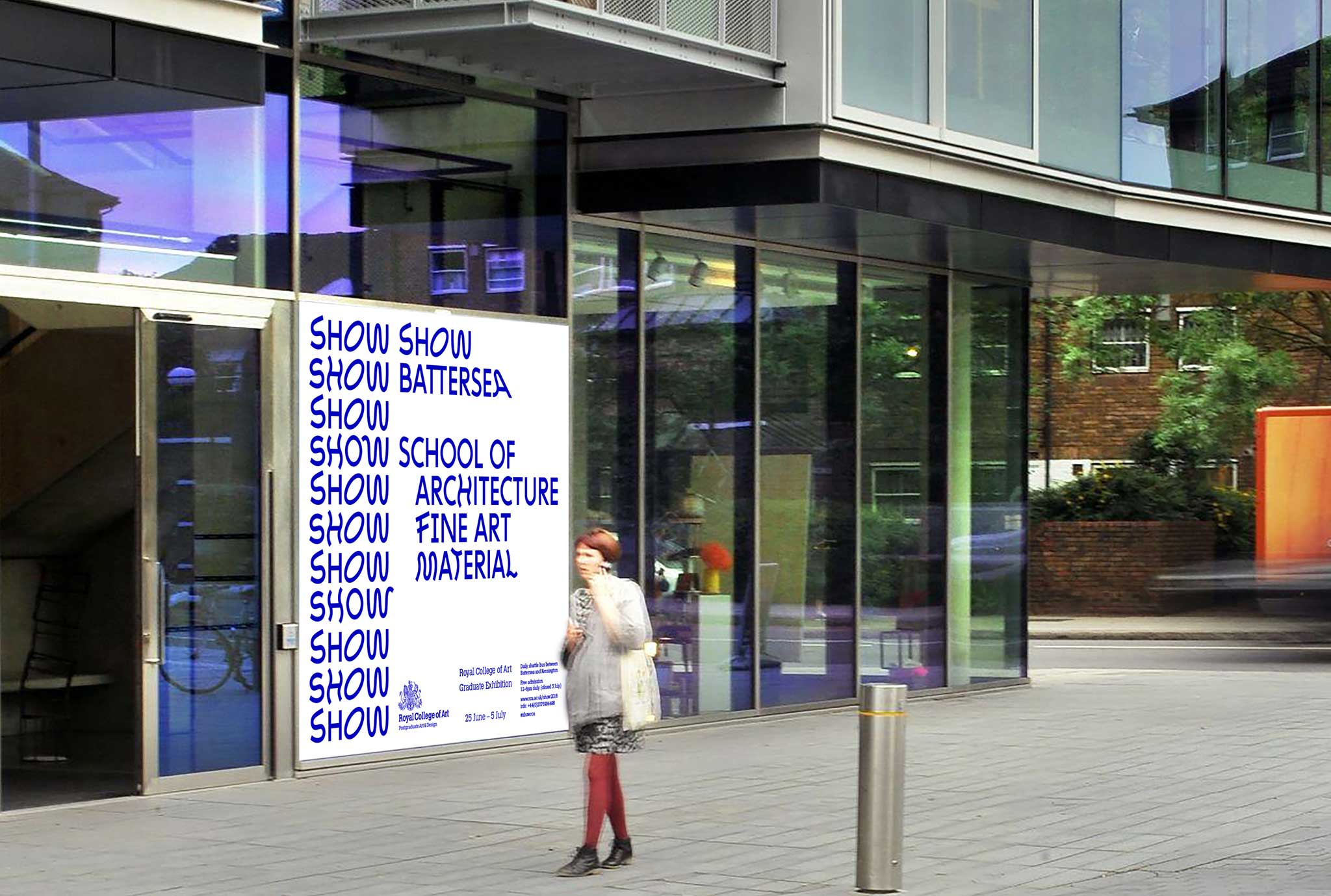 Royal College of Art show 2016 battersea